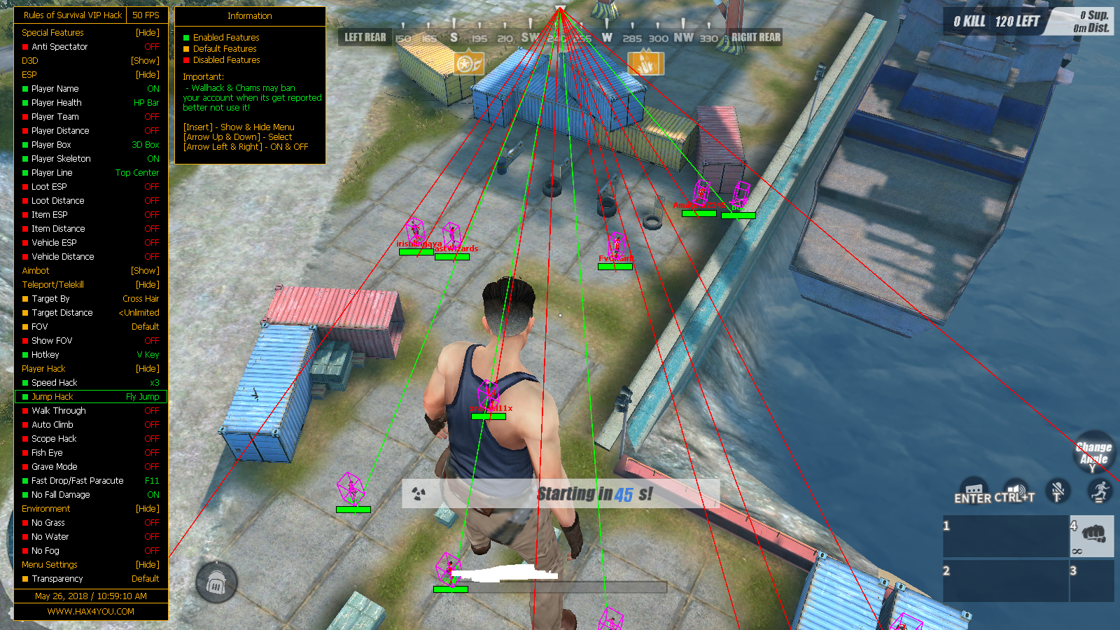 Rules Of Survival Hilesi İndir